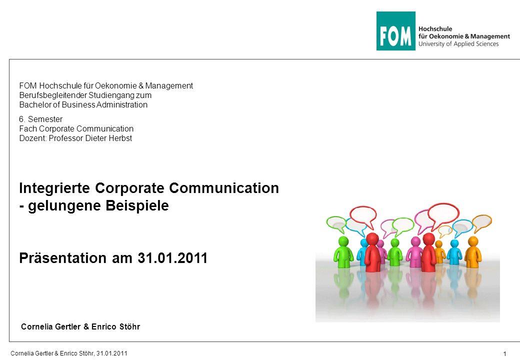 Integrierte Corporate Communication - gelungene Beispiele