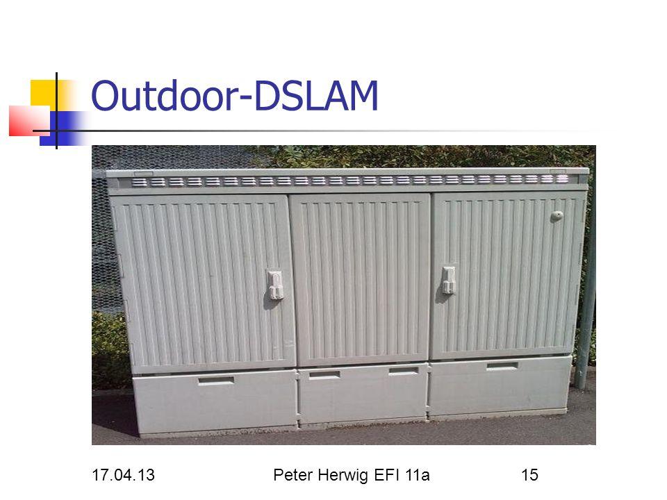 Outdoor-DSLAM 17.04.13 Peter Herwig EFI 11a Herwig Peter 17.04.13