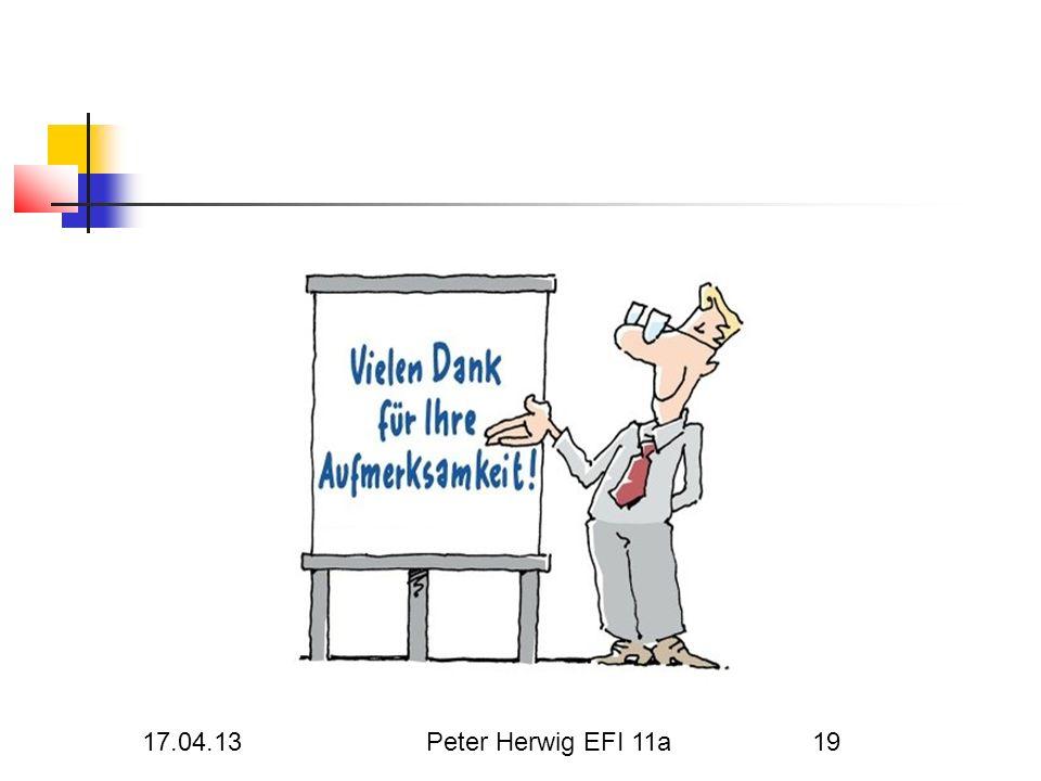Herwig Peter 17.04.13 17.04.13 Peter Herwig EFI 11a EFI 11a
