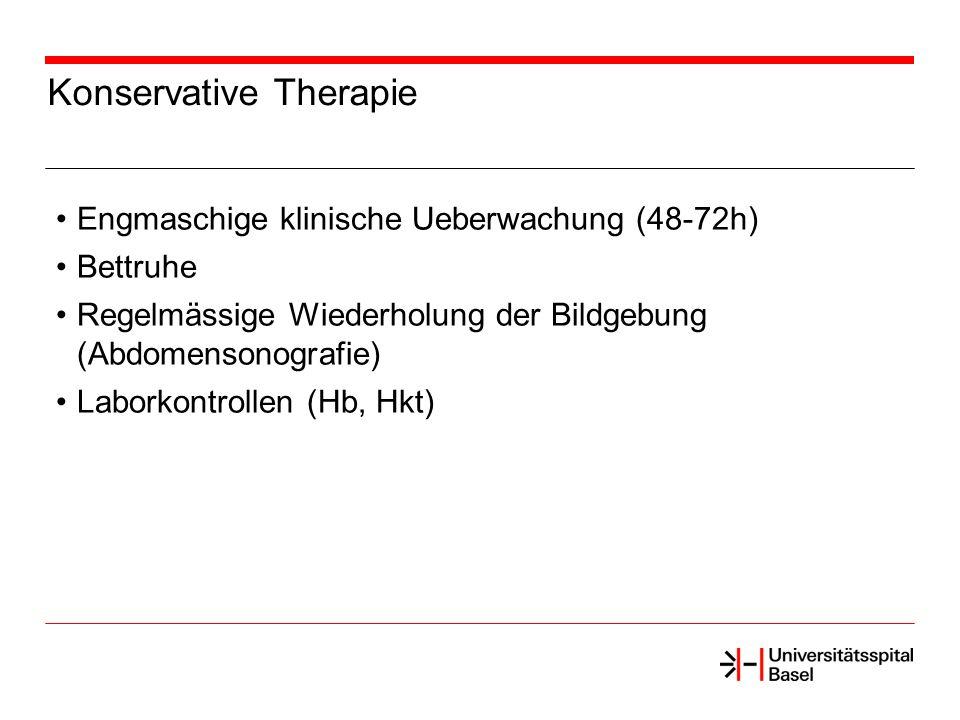 Konservative Therapie