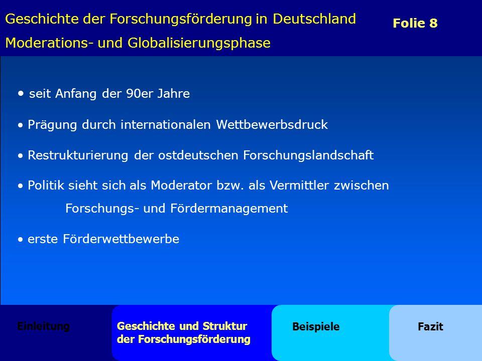 Geschichte der Forschungsförderung in Deutschland