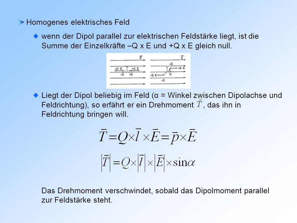 Homogenes elektrisches Feld