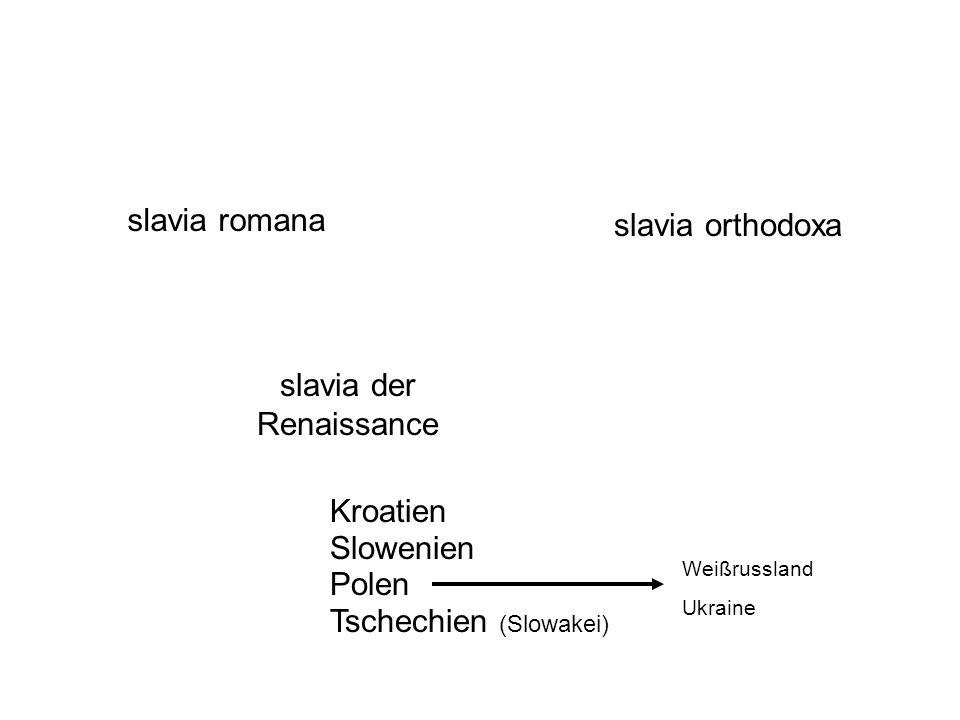 slavia der Renaissance