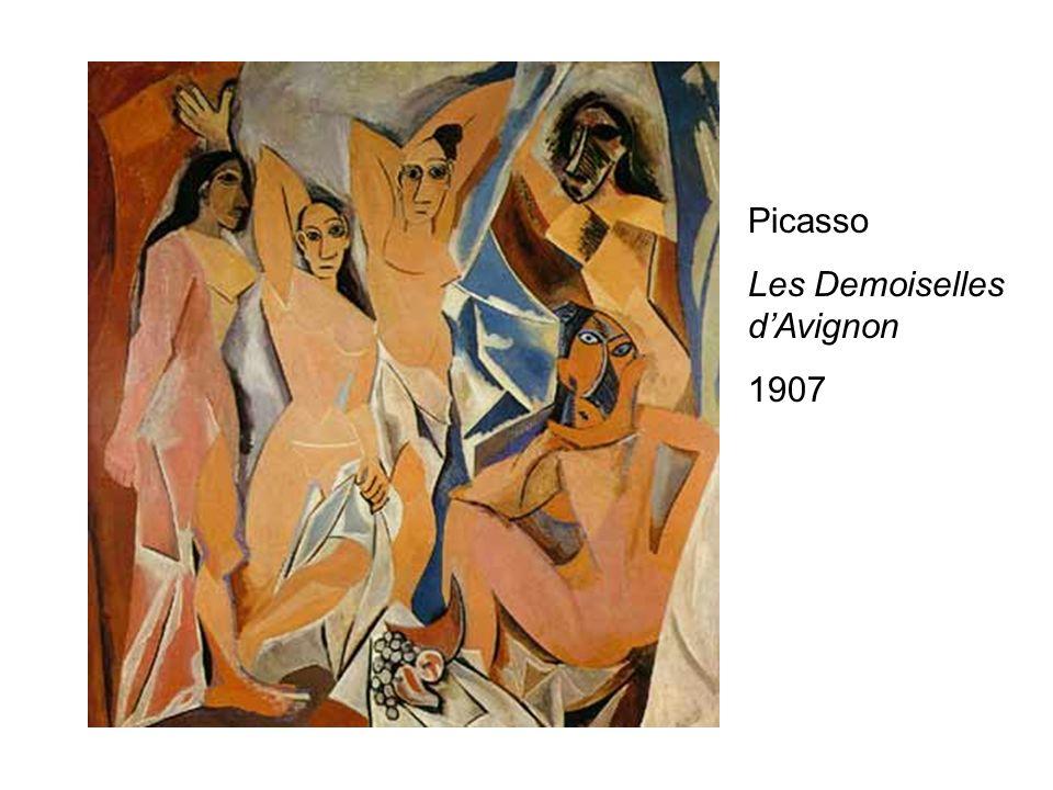 Picasso Les Demoiselles d'Avignon 1907