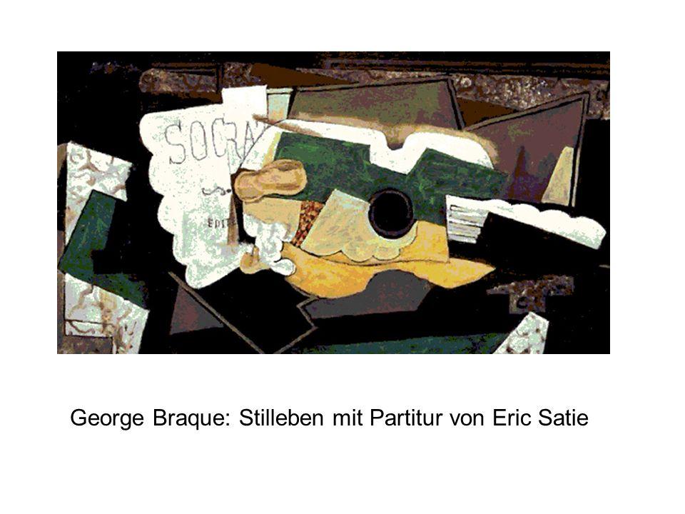 George Braque: Stilleben mit Partitur von Eric Satie