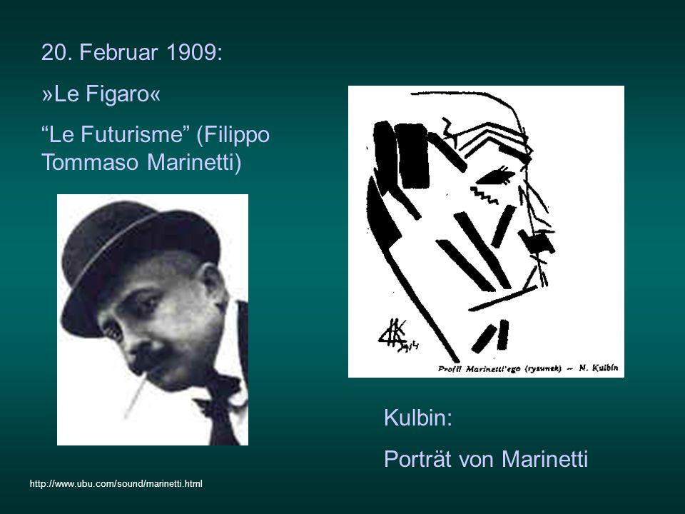 Le Futurisme (Filippo Tommaso Marinetti)