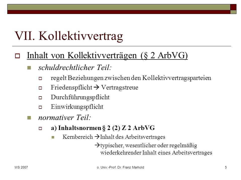 o. Univ.-Prof. Dr. Franz Marhold