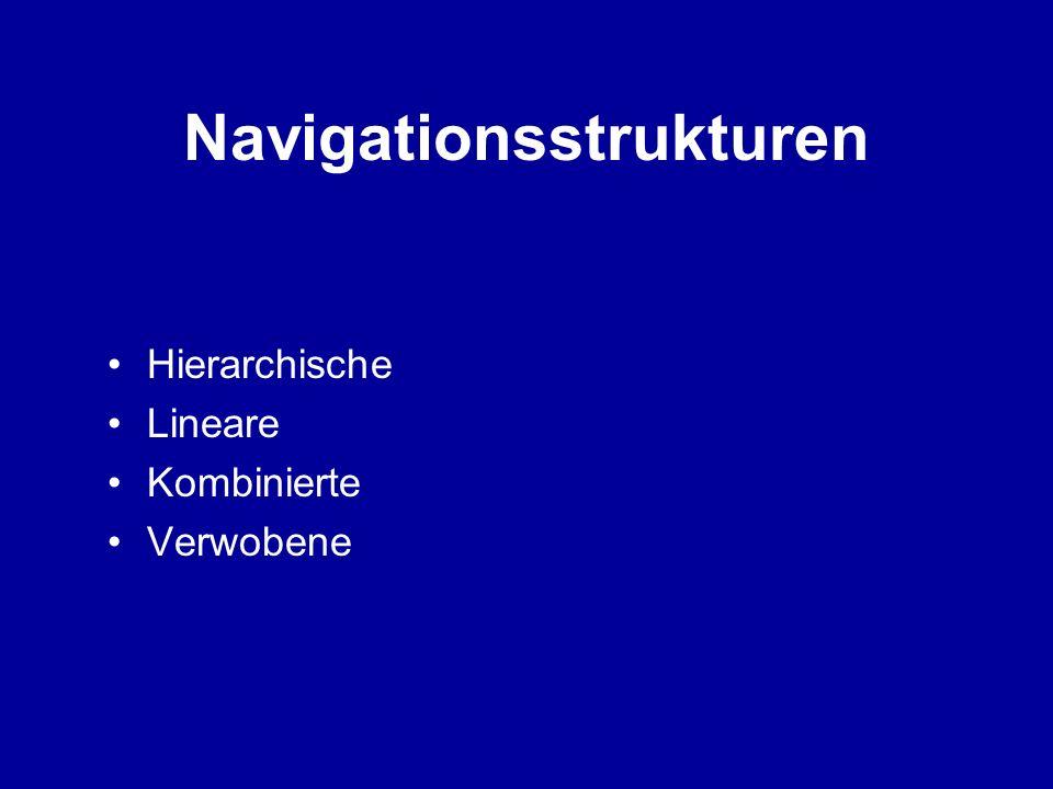 Navigationsstrukturen