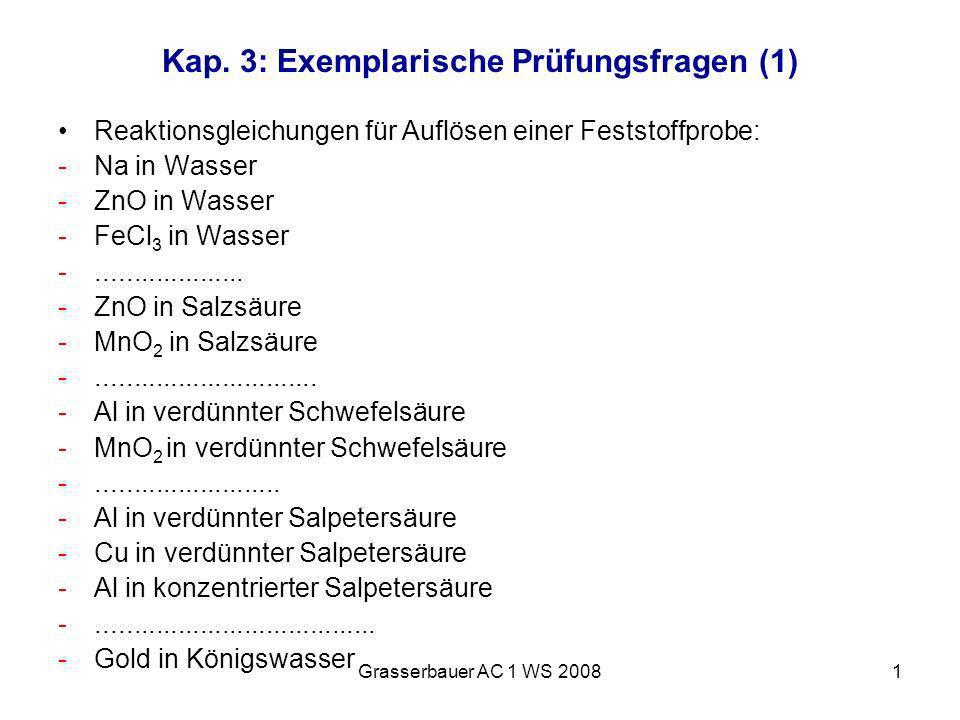 Kap. 3: Exemplarische Prüfungsfragen (1)