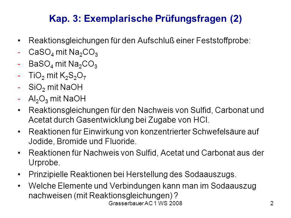 Kap. 3: Exemplarische Prüfungsfragen (2)