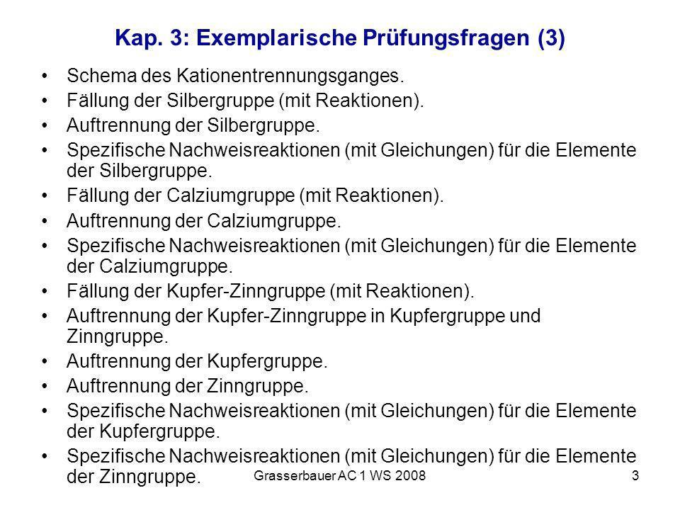 Kap. 3: Exemplarische Prüfungsfragen (3)