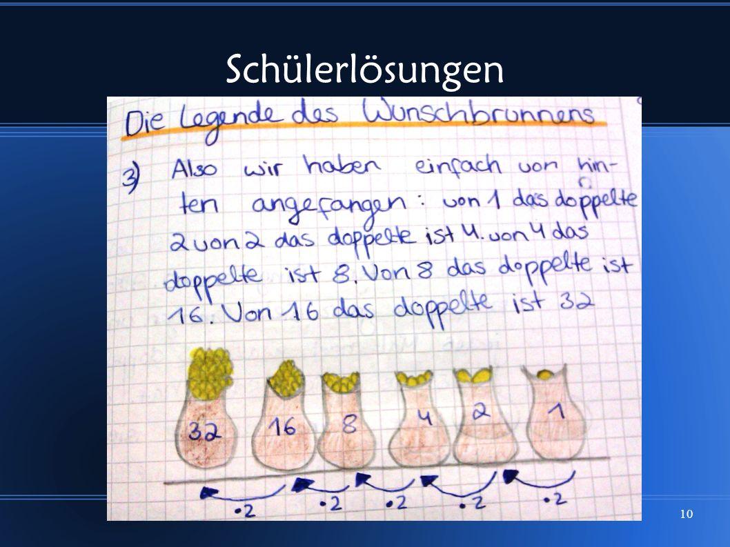 Schülerlösungen