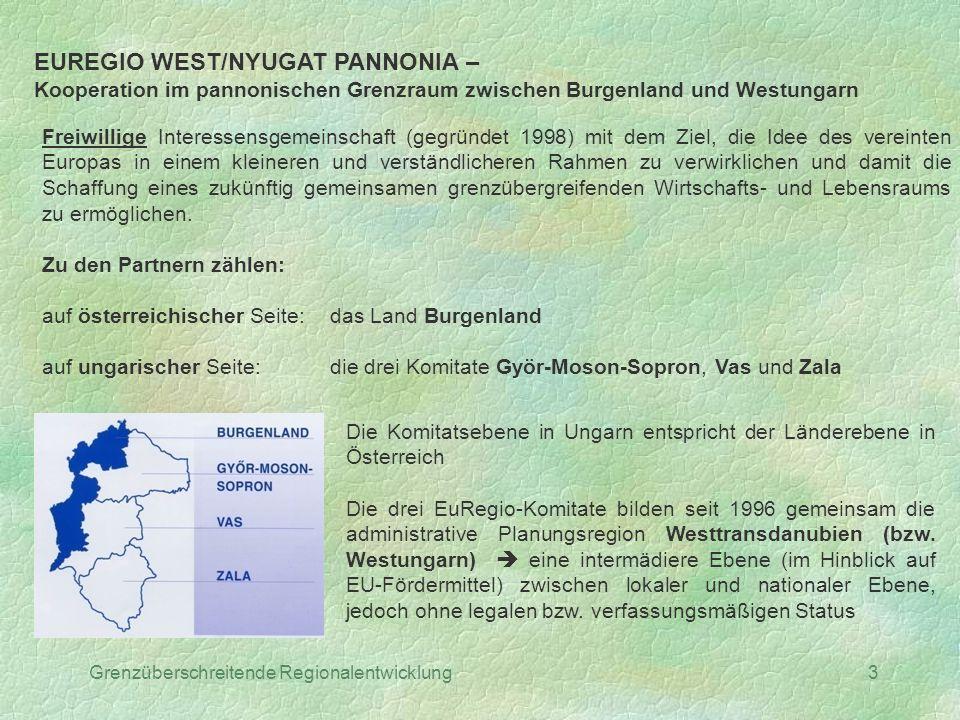 EUREGIO WEST/NYUGAT PANNONIA –