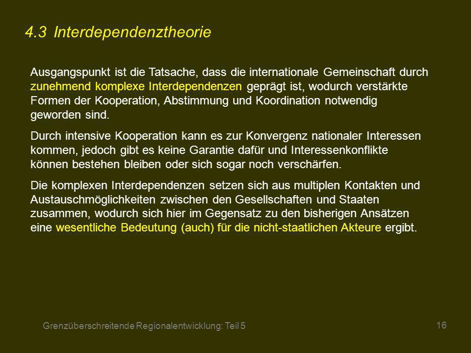 4.3 Interdependenztheorie