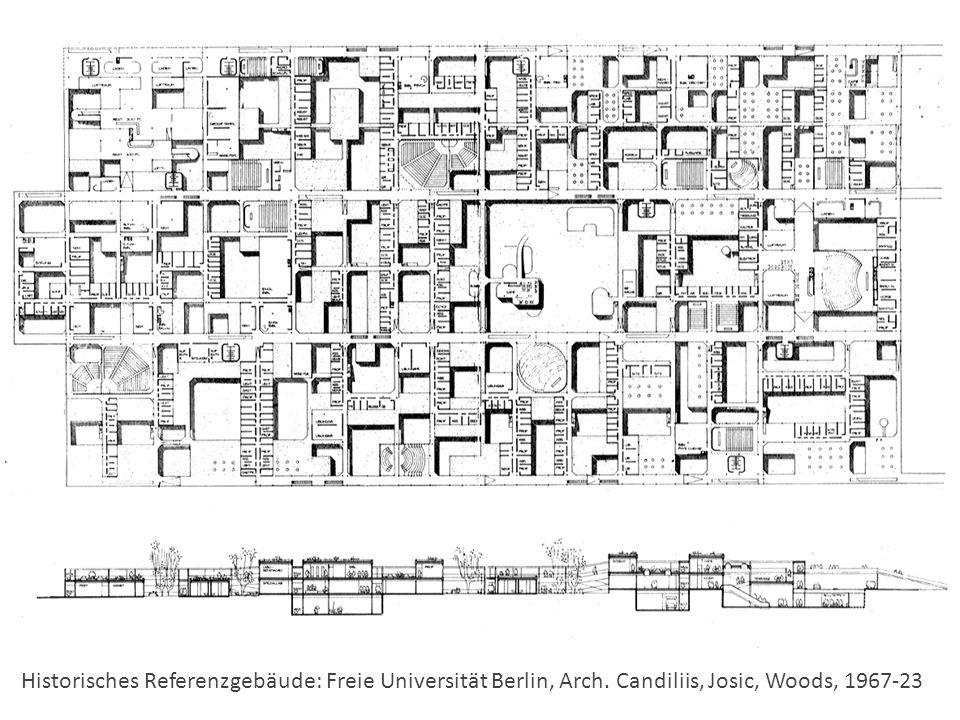 Historisches Referenzgebäude: Freie Universität Berlin, Arch