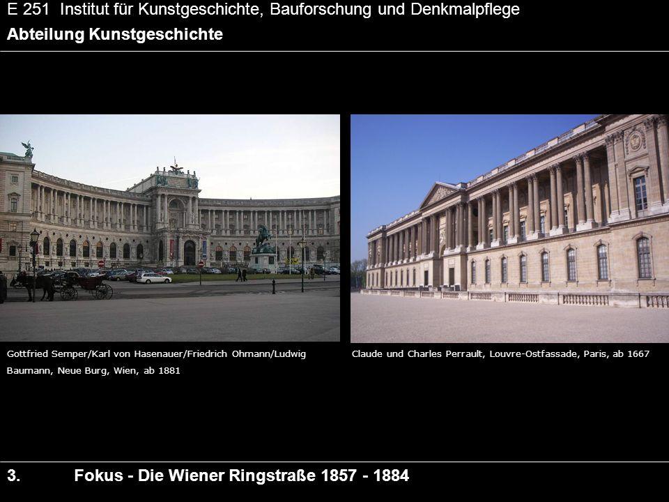 E 251 Institut für Kunstgeschichte, Bauforschung und Denkmalpflege