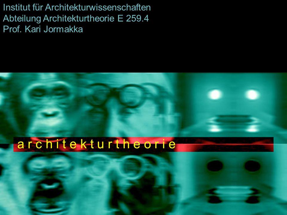 Institut für Architekturwissenschaften