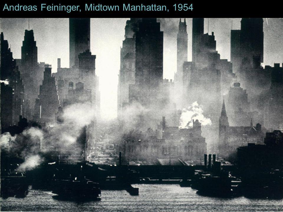 Andreas Feininger, Midtown Manhattan, 1954