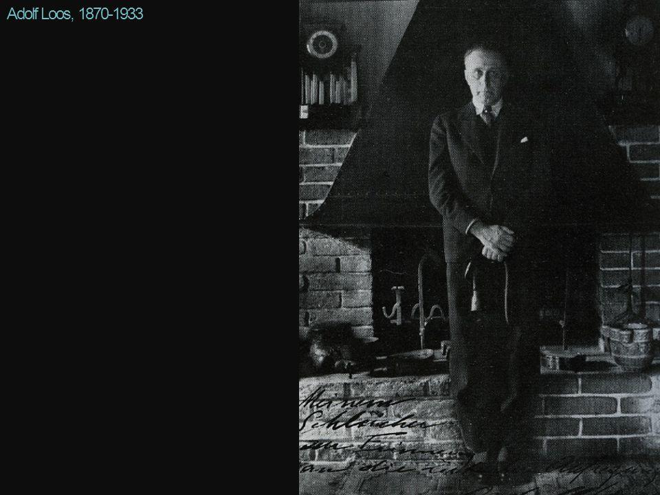 Adolf Loos, 1870-1933 paradoxe