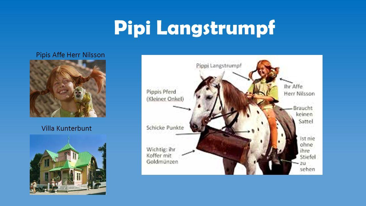 Pipi Langstrumpf Pipis Affe Herr Nilsson Villa Kunterbunt