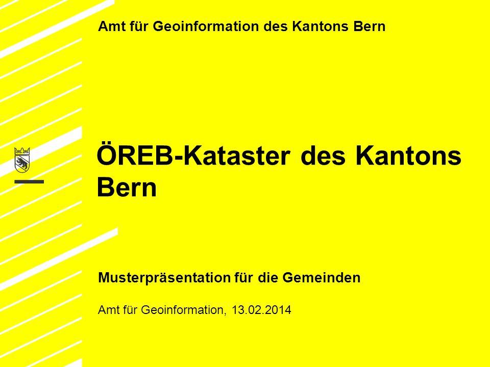ÖREB-Kataster des Kantons Bern