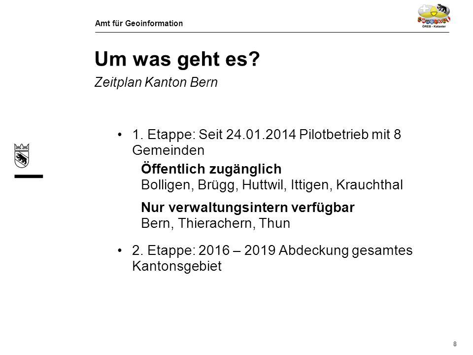 Um was geht es Zeitplan Kanton Bern