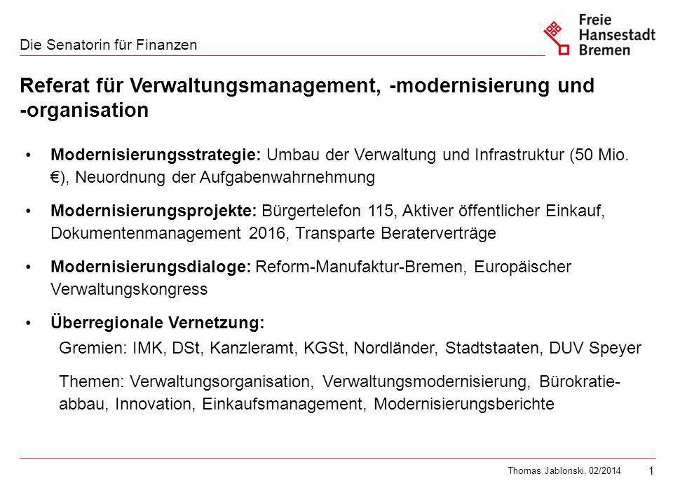 Trends der Verwaltungsmodernisierung