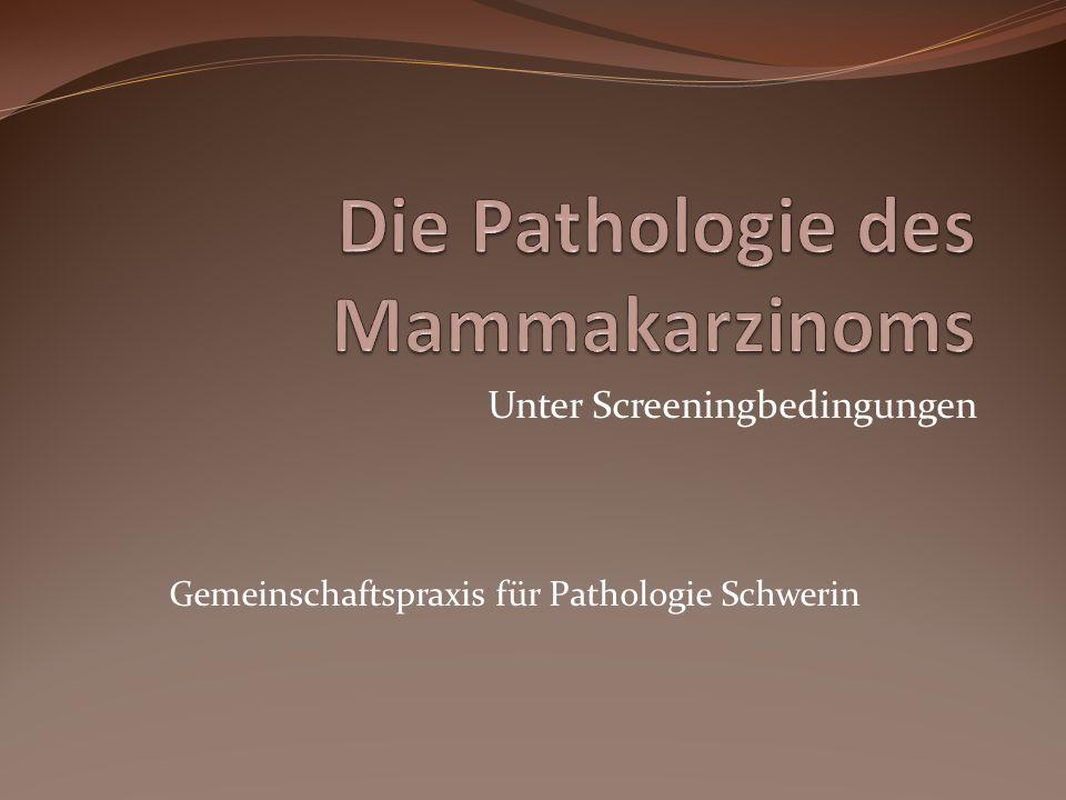 Die Pathologie des Mammakarzinoms