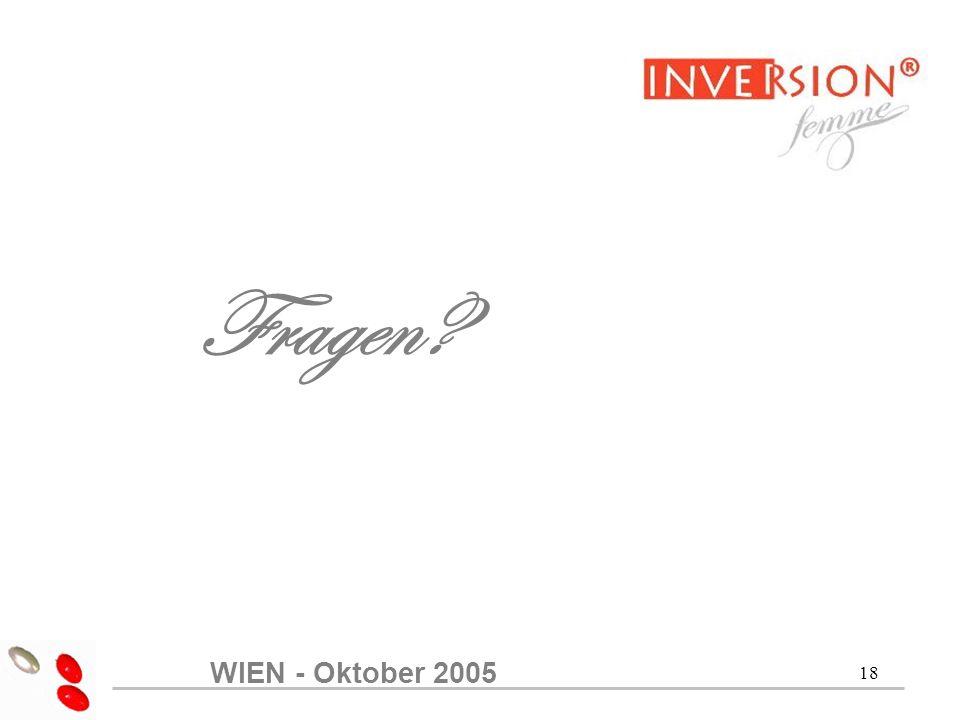 Fragen WIEN - Oktober 2005