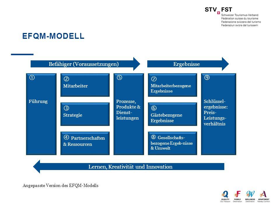 EFQM-Modell     Partnerschaften & Ressourcen    