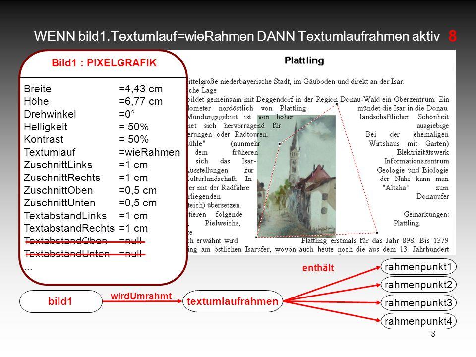 WENN bild1.Textumlauf=wieRahmen DANN Textumlaufrahmen aktiv