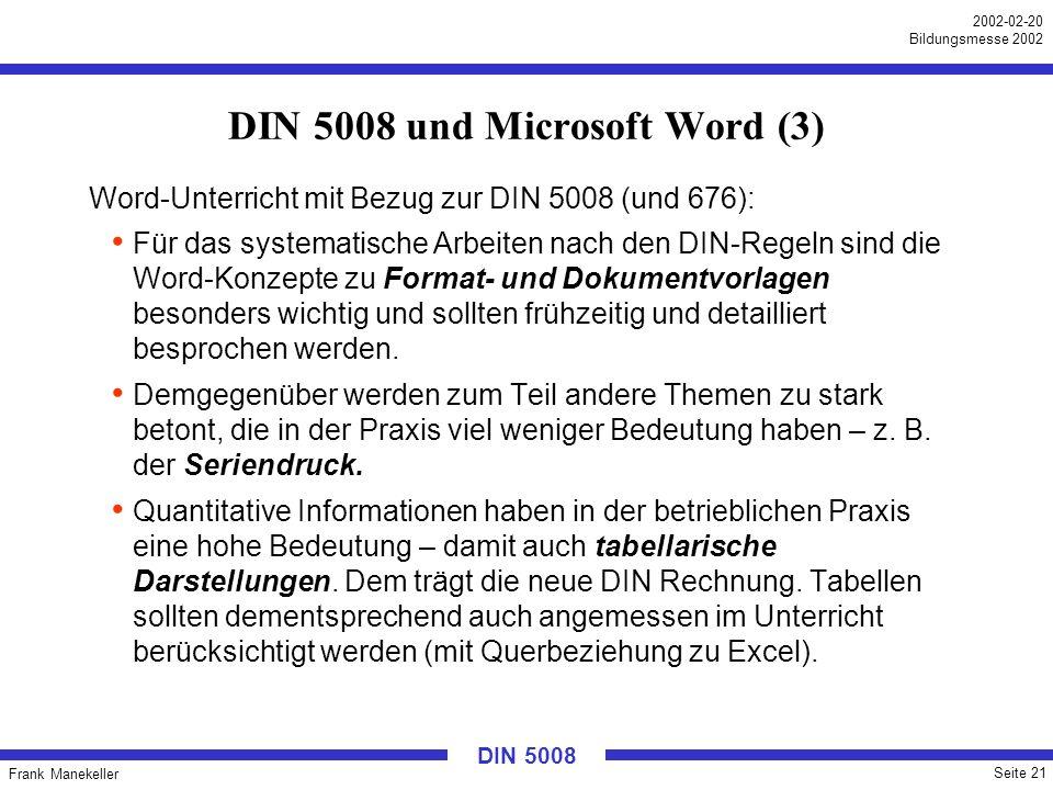 DIN 5008 und Microsoft Word (3)