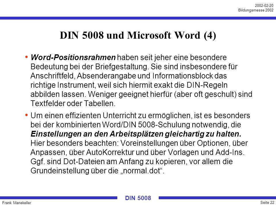 DIN 5008 und Microsoft Word (4)