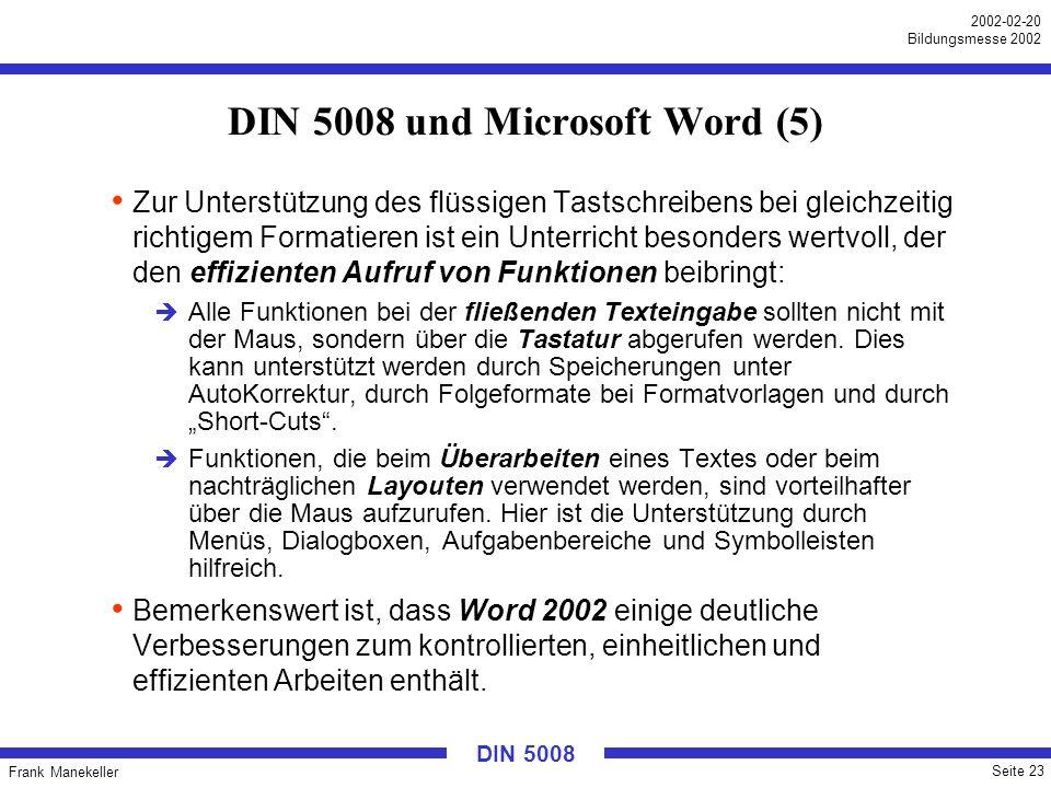 DIN 5008 und Microsoft Word (5)
