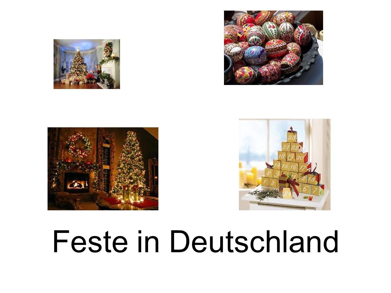 Feste in Deutschland