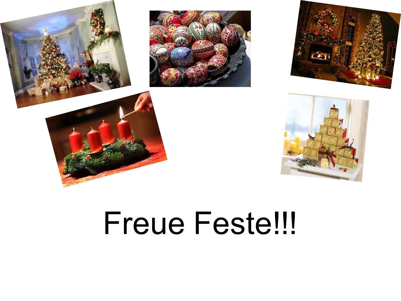 Freue Feste!!!