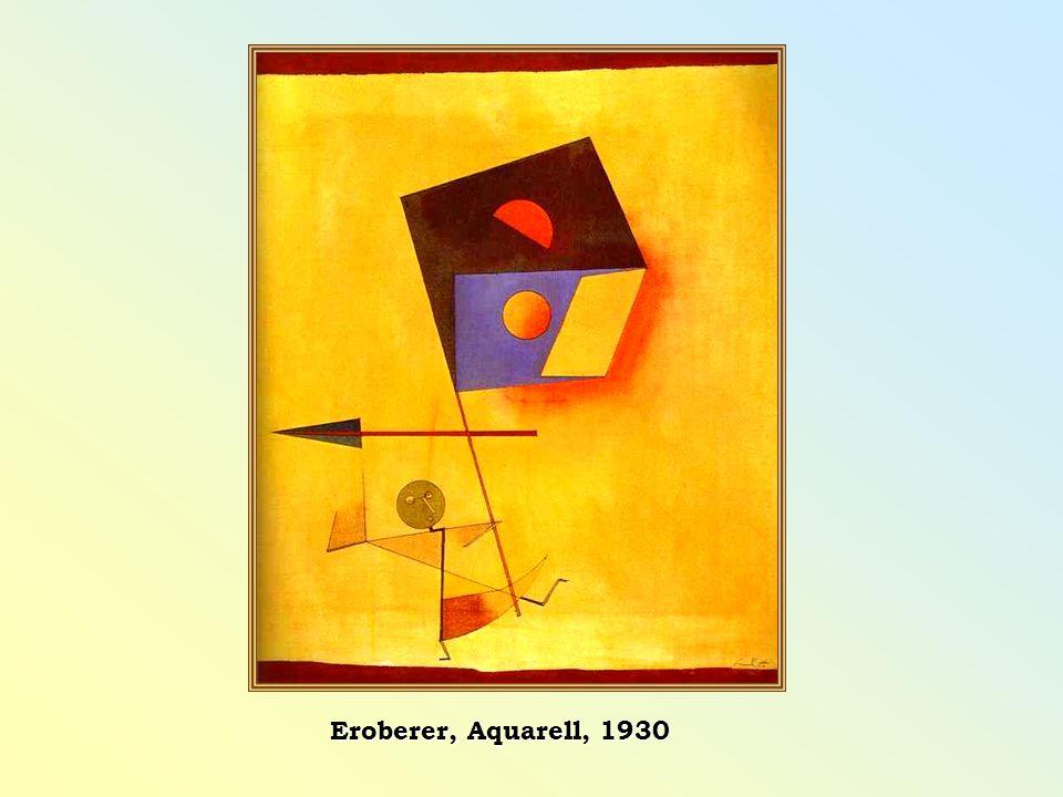 Eroberer, Aquarell, 1930