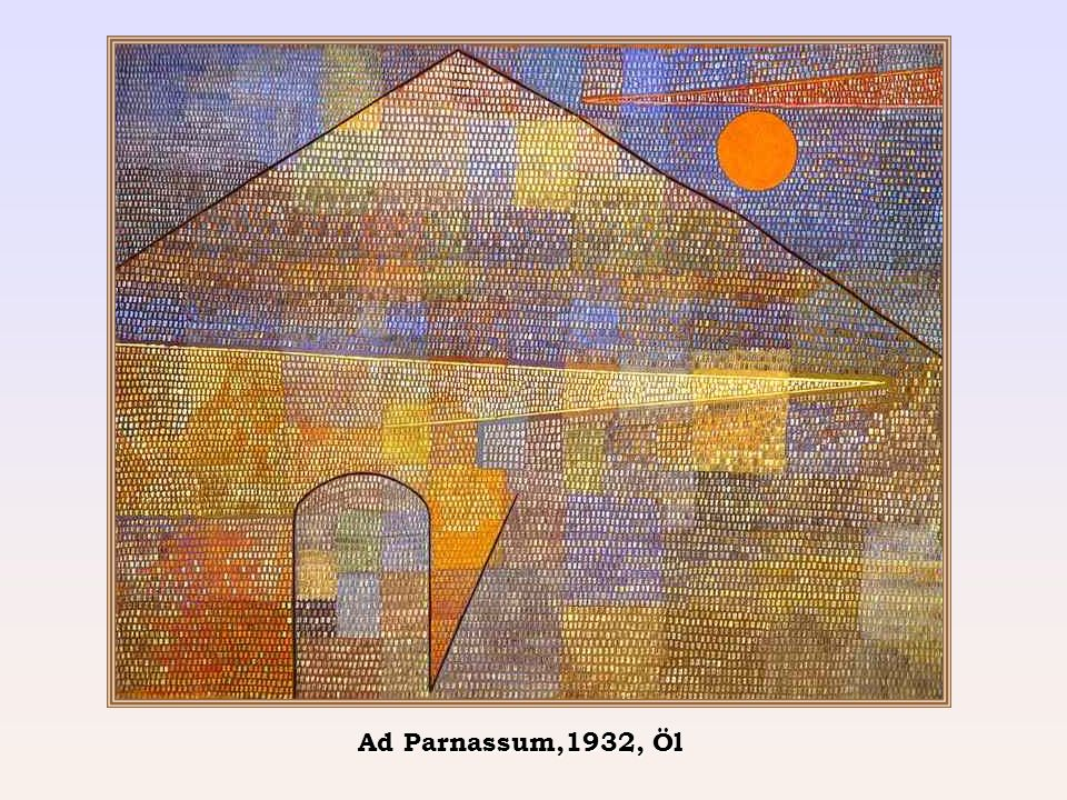 Ad Parnassum,1932, Öl