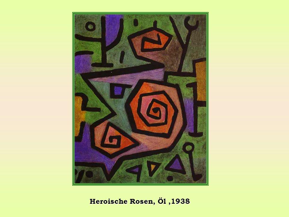 Heroische Rosen, Öl ,1938