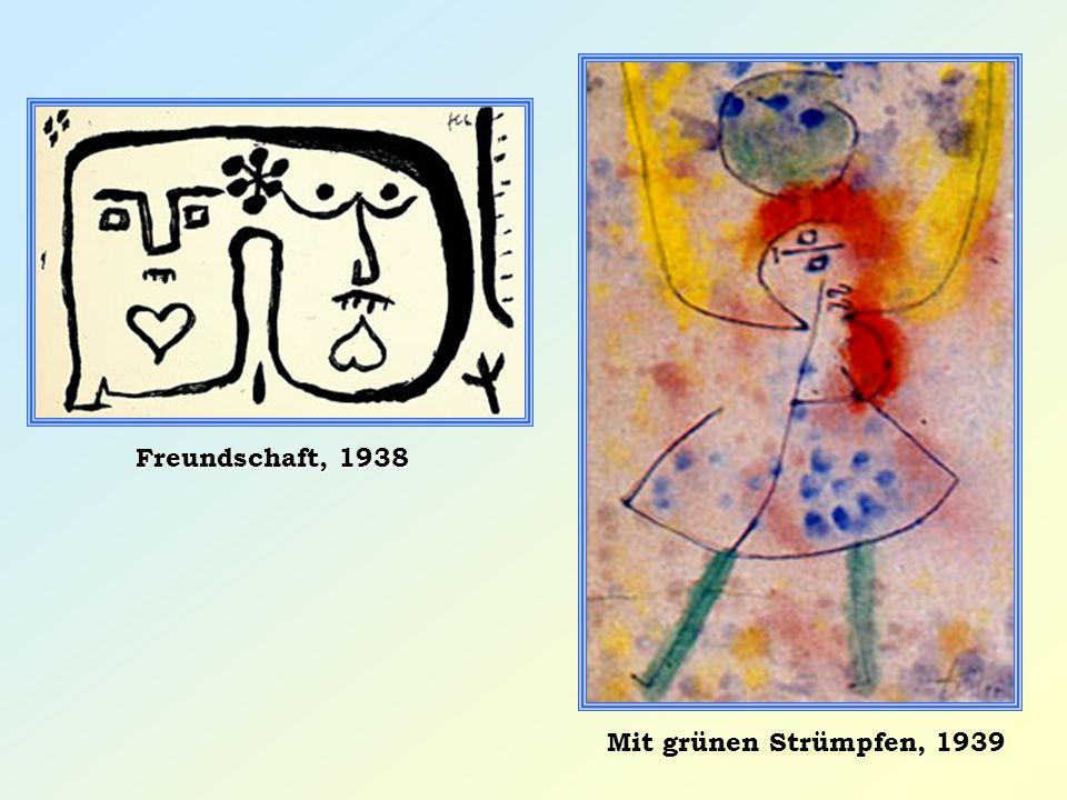 Freundschaft, 1938 Mit grünen Strümpfen, 1939