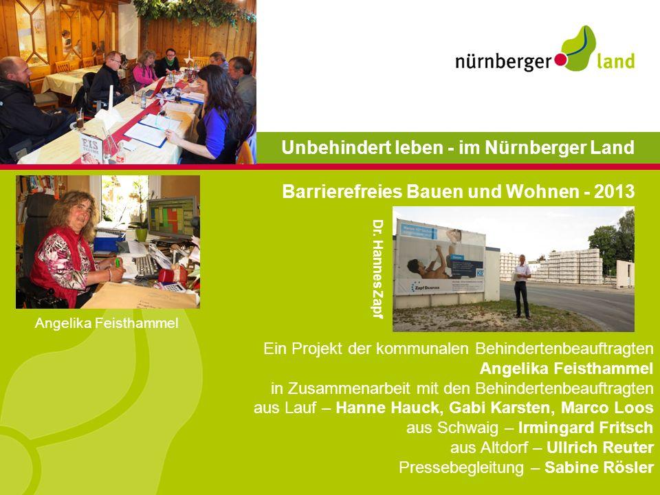 Unbehindert leben - im Nürnberger Land