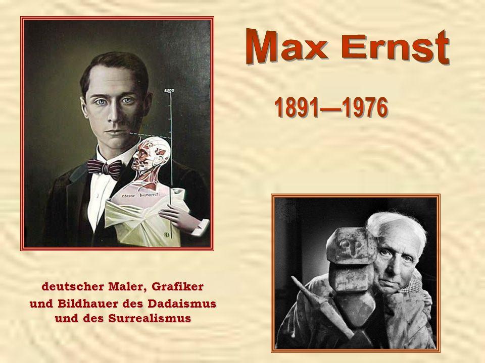 deutscher Maler, Grafiker und Bildhauer des Dadaismus