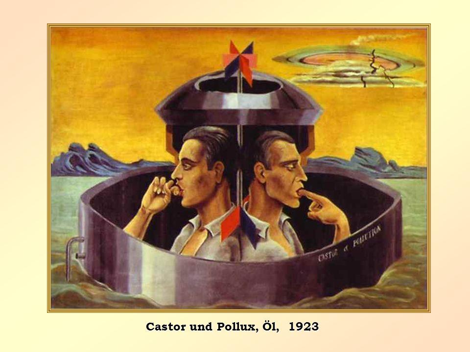 Castor und Pollux, Öl, 1923