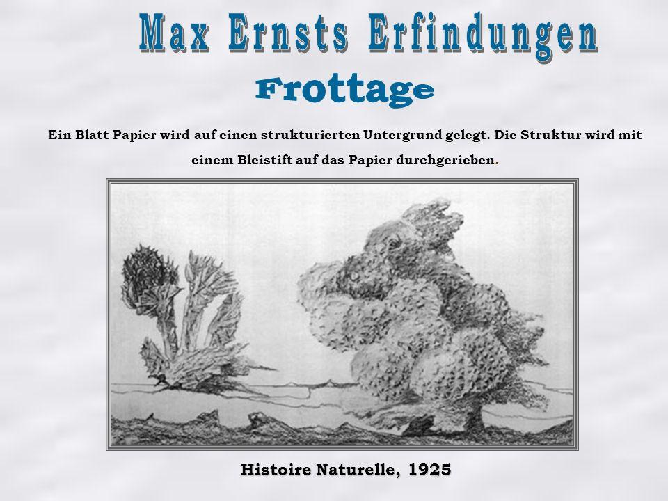 Max Ernsts Erfindungen
