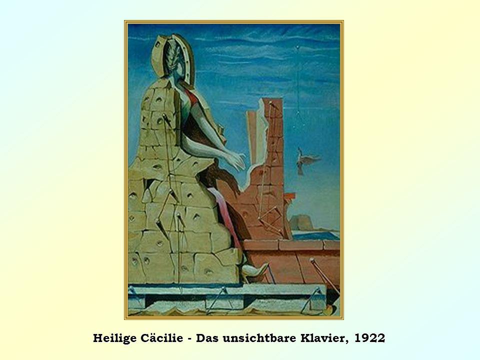 Heilige Cäcilie - Das unsichtbare Klavier, 1922
