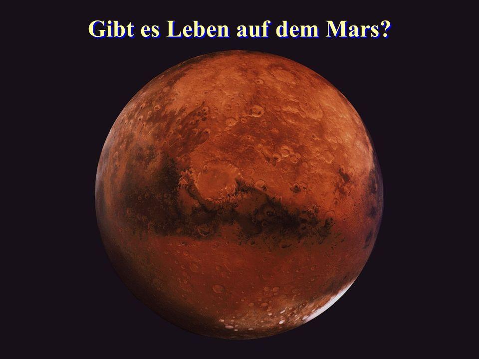 Gibt es Leben auf dem Mars