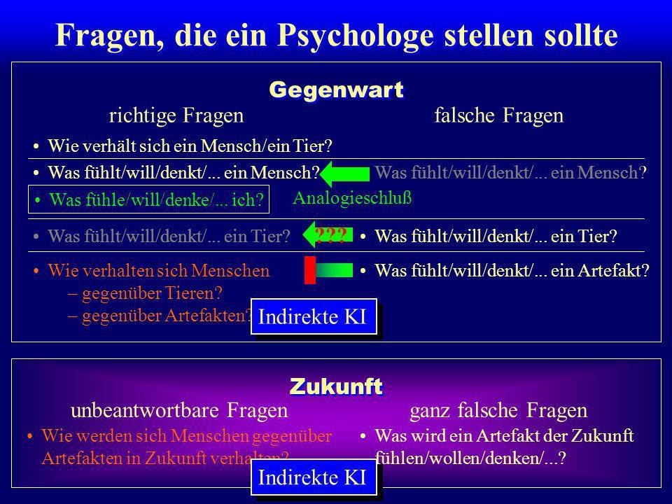 Fragen, die ein Psychologe stellen sollte