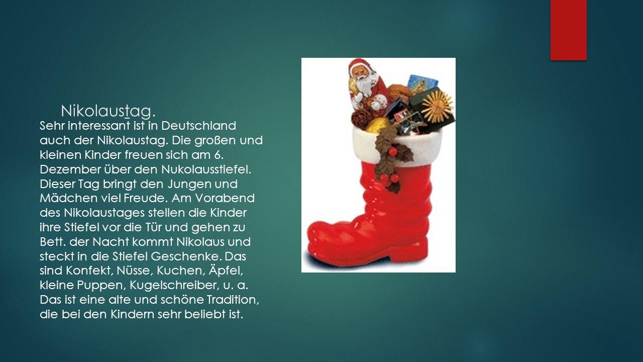 Nikolaustag.