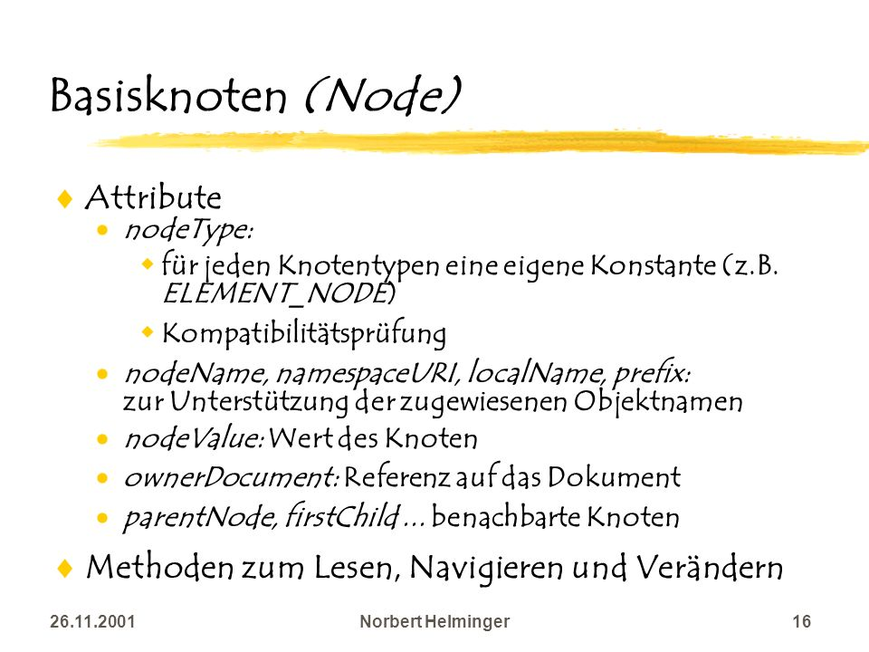 Basisknoten (Node) Attribute