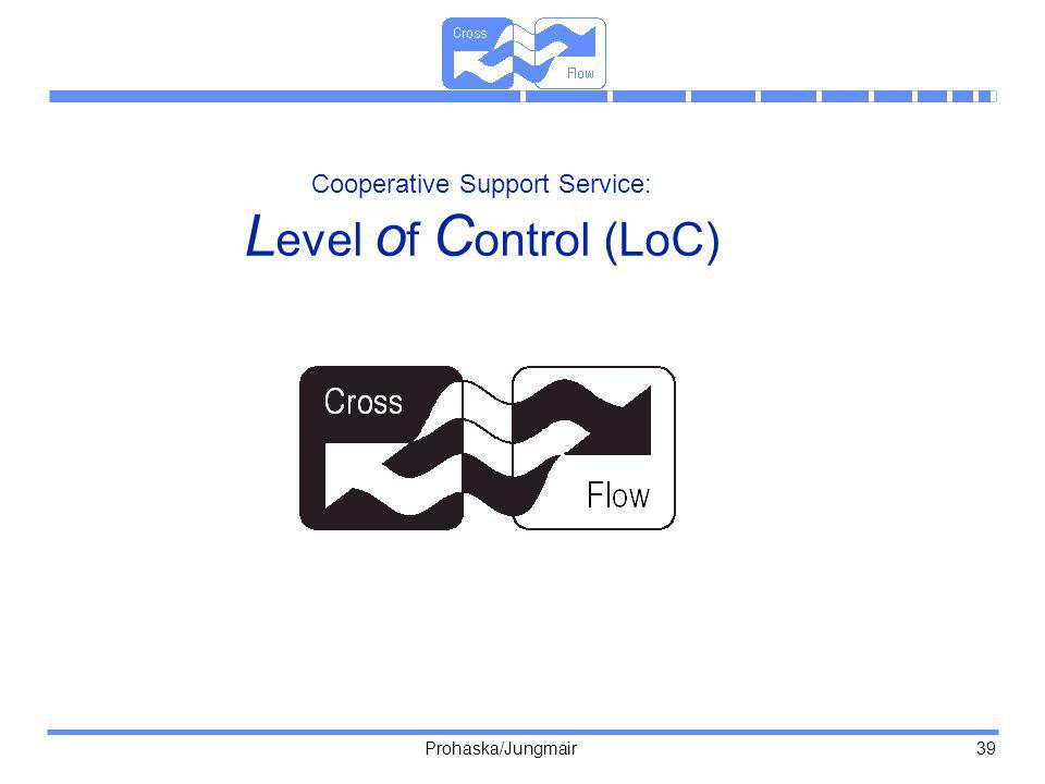 Cooperative Support Service: Level of Control (LoC)